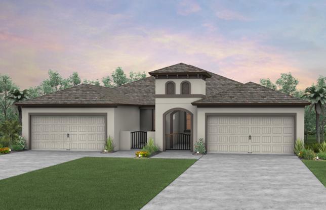 Cressida Plan  by Pulte Homes WaterSet  Apollo Beach Florida  Real Estate   Apollo Beach Realtor   New Homes for Sale   Apollo Beach Florida