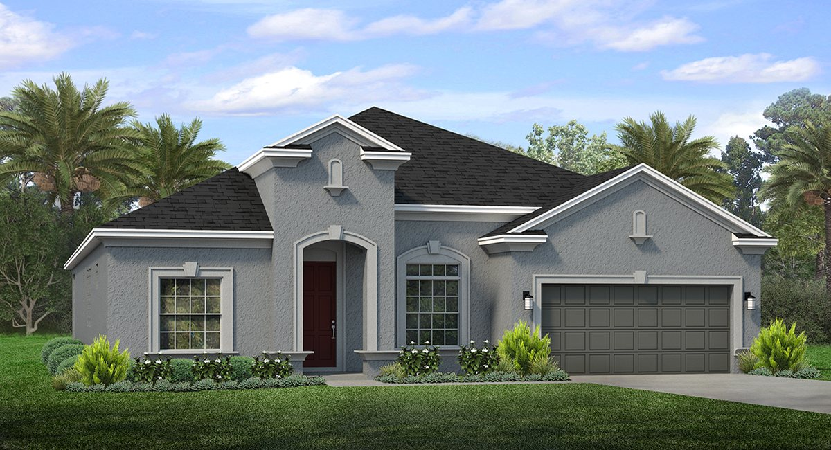 The Inverness II Barrington at South Fork Riverview Florida Real Estate | Riverview Realtor | New Homes for Sale | Riverview Florida