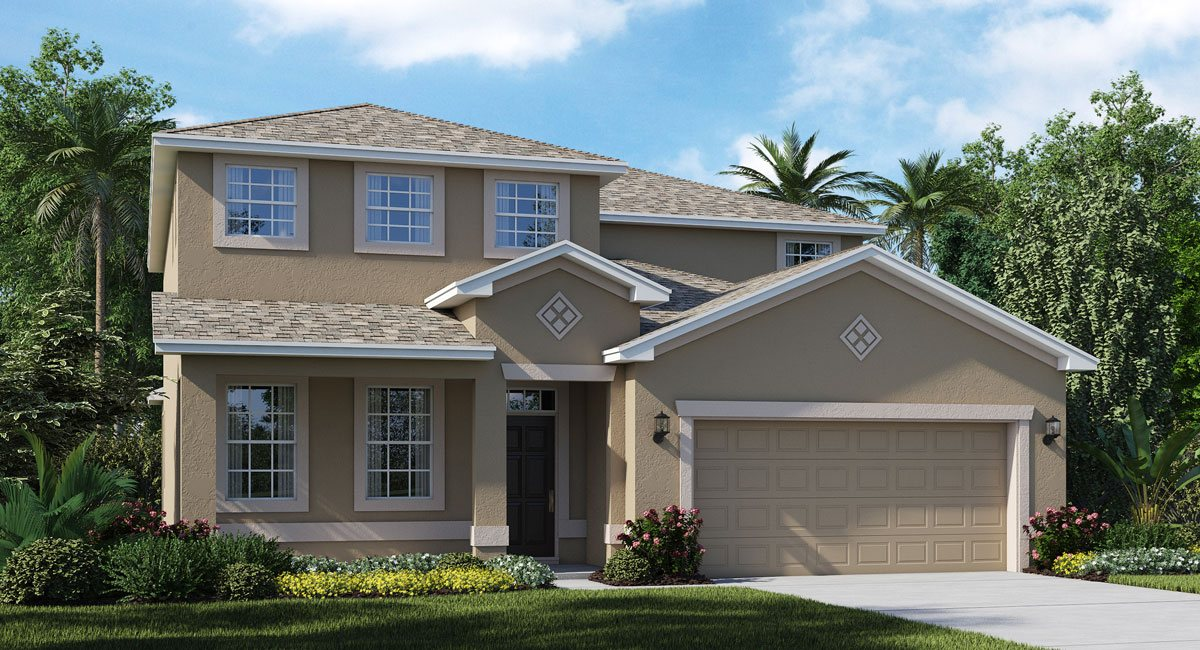 The   Patriot  Model By Lennar Homes Riverview Florida Real Estate | Ruskin Florida Realtor | New Homes for Sale | Tampa Florida