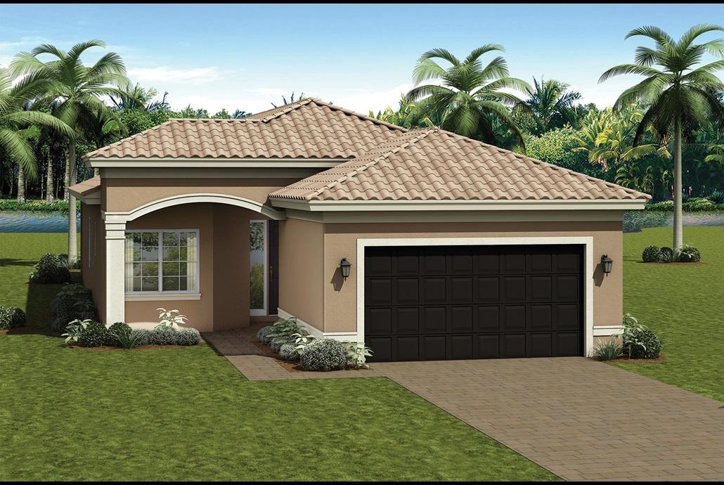 Valencia Del Sol SIERRA 2 Bedrooms 2 Bathrooms Great Room Den/Optional 3rd Bedroom Screened and Covered Patio 2-Car Garage