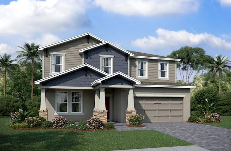 The Seagrass Beazer New Homes WaterSet | Apollo Beach Florida Real Estate | Apollo Beach Realtor | New Homes for Sale