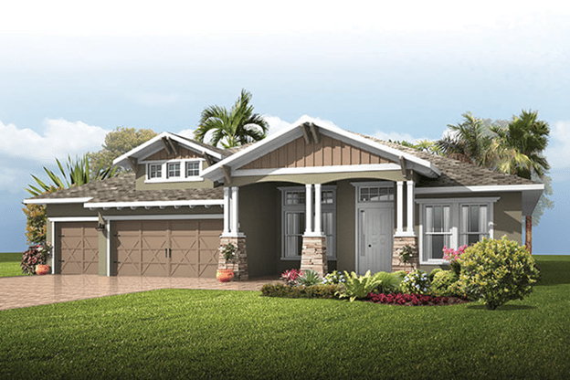 The St. Lucia | Cardel Homes | WaterSet Apollo Beach Florida Real Estate | Apollo Beach Realtor | New Homes for Sale | Apollo Beach Florida