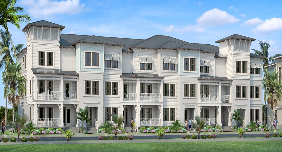 Westshore Marina District: Inlet Park Townhomes New Home South Tampa Florida