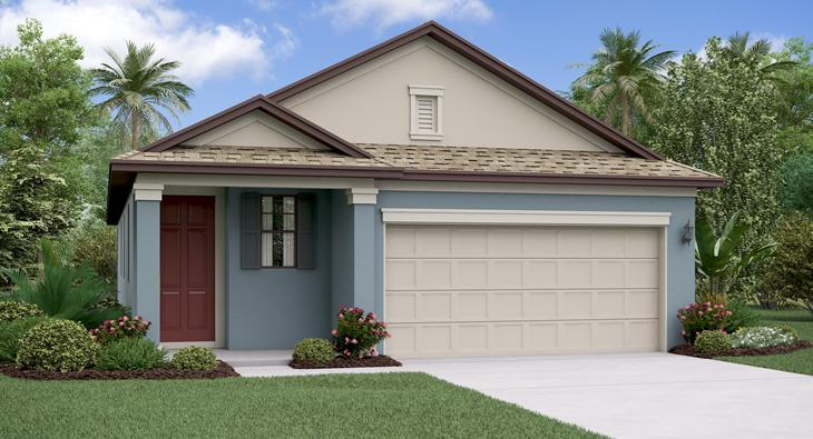 The Connecticut  Lennar Homes Ventana Riverview Florida Real Estate | Riverview Realtor | New Homes for Sale | Riverview Florida