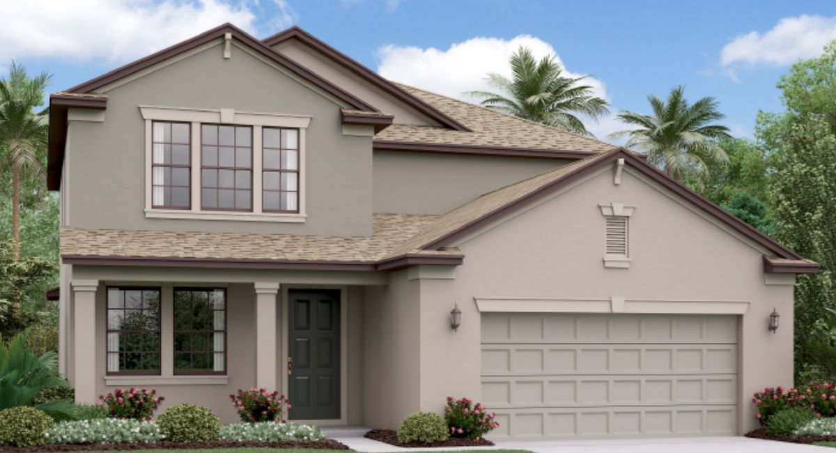 The Pennsylvania Lennar Homes Ventana Riverview Florida Real Estate | Riverview Realtor | New Homes for Sale | Riverview Florida