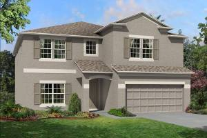 The Coronado II Model Tour Ventana M/I Homes Riverview Florida