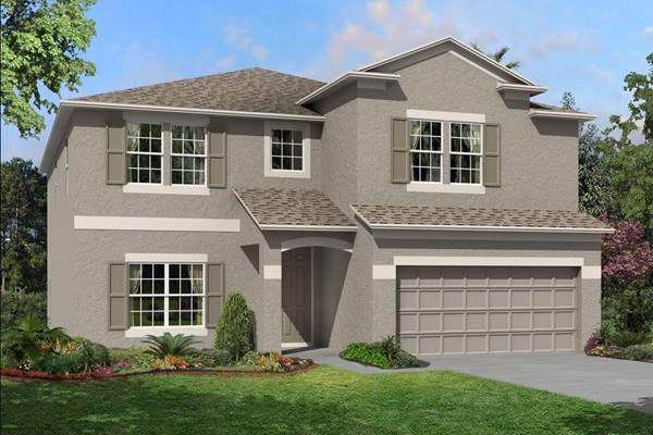 The Coronado II  Homes M/I Homes  Ventana Riverview Florida Real Estate | Riverview Florida Realtor | New Homes for Sale | Tampa Florida