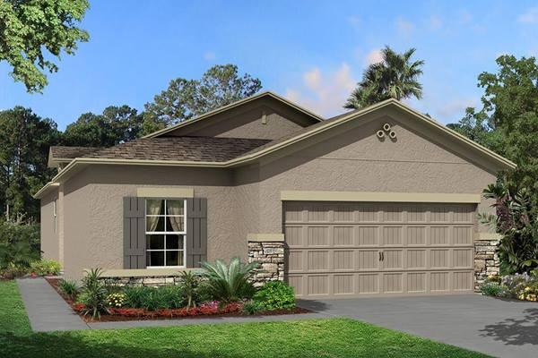 The Jasmine Homes M/I Homes  Ventana Riverview Florida Real Estate | Riverview Florida Realtor | New Homes for Sale | Tampa Florida