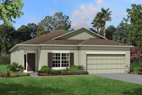 The Newport II Homes M/I Homes  Ventana Riverview Florida Real Estate | Riverview Florida Realtor | New Homes for Sale | Tampa Florida