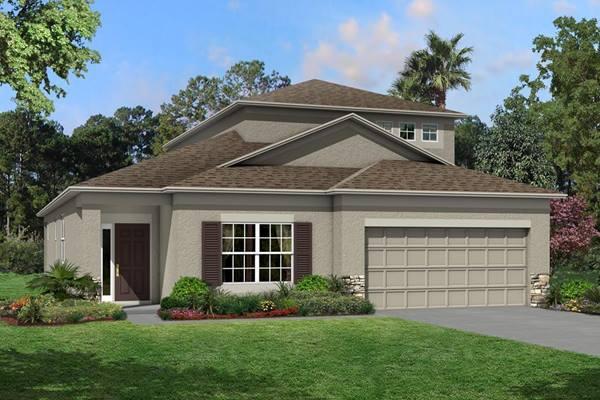 The Newport II Bonus Homes M/I Homes  Ventana Riverview Florida Real Estate | Riverview Florida Realtor | New Homes for Sale | Tampa Florida