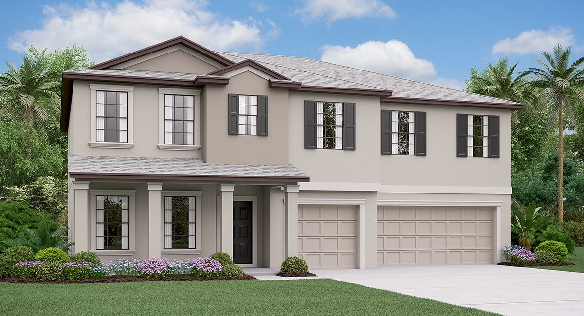 The Olympia  Model Tour Lennar Homes Riverview Florida
