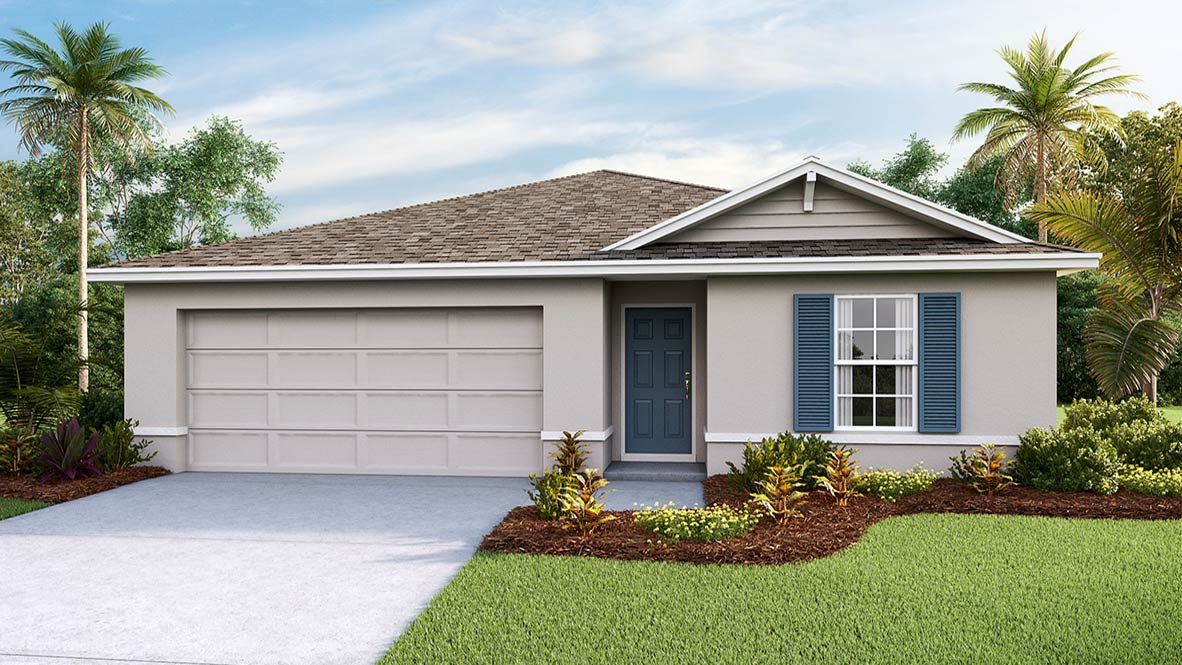 The Dakota Model Tour Shell Cove New Home Community Ruskin Florida