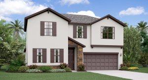 The Rhode Island  Model Tour Lennar Homes CrestView Lakes Riverview Florida