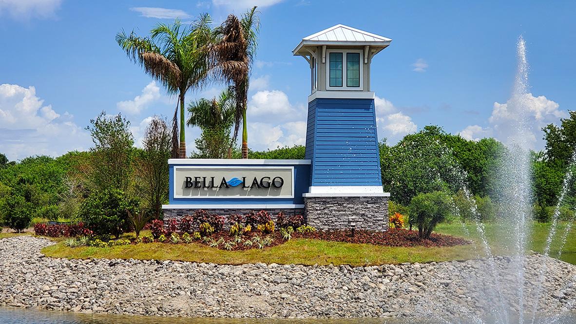 Bella Lago New Home Community Parrish Florida