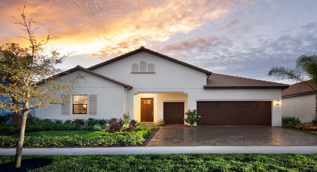 The Halos Model Tour  Lennar Homes South Shore Bay Wimauma Florida