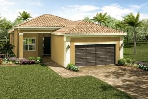 The  Tribeca Model Tour Valencia Del Sol GL Homes Wimauma Florida