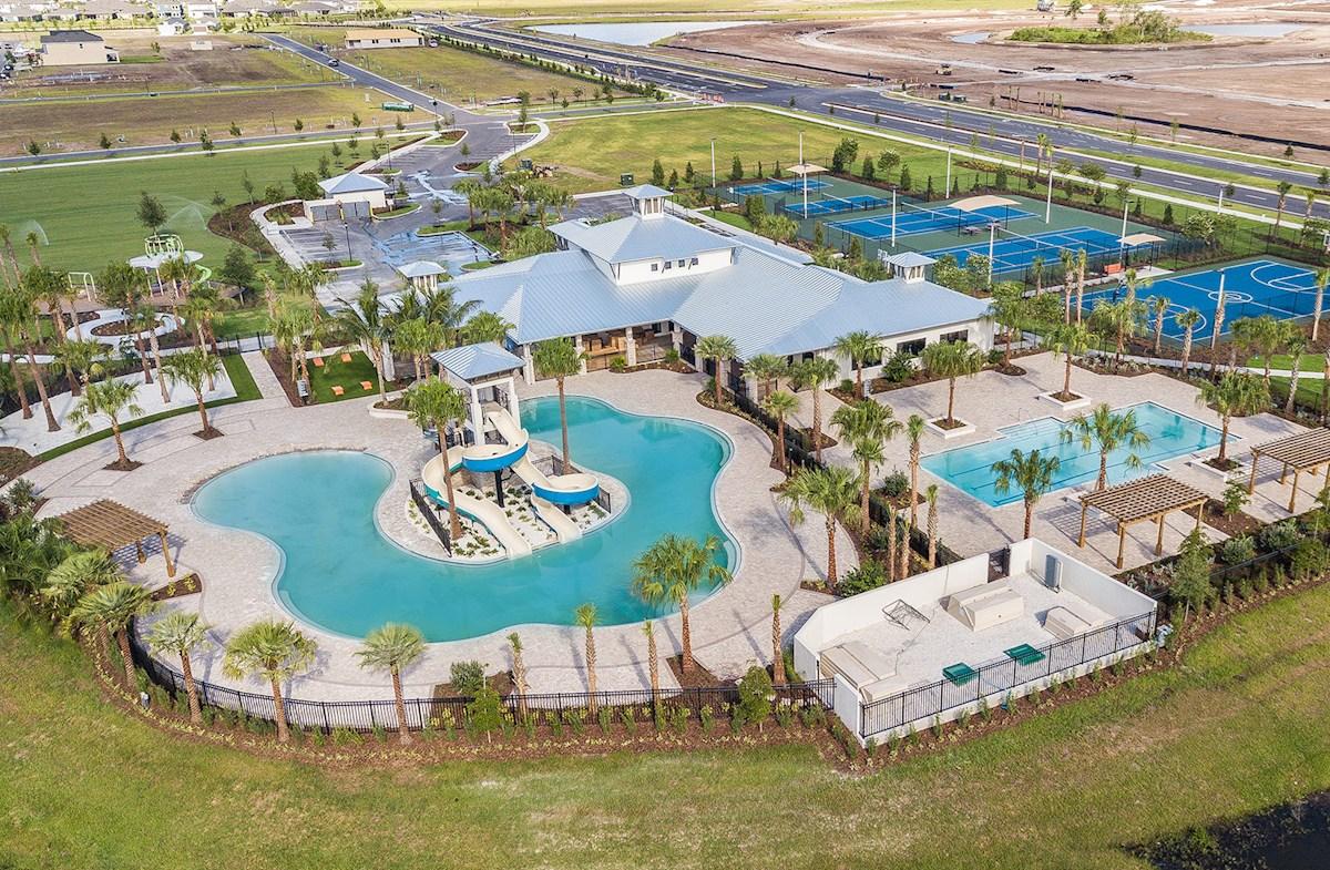 New Home Community WaterSet Apollo Beach Florida