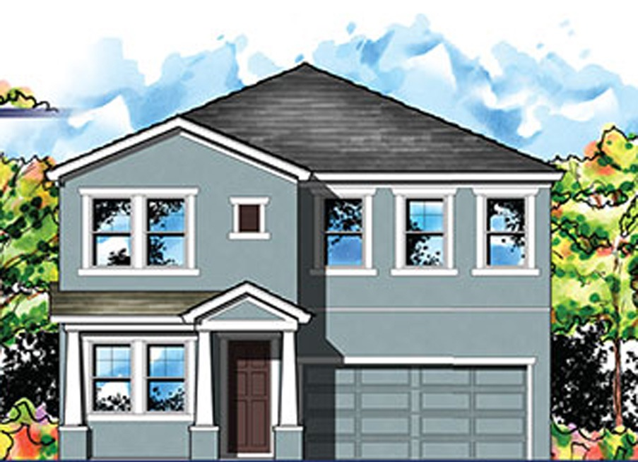 The  Heron  Model Tou Homes by WestBay  Union Park Wesley Chapel Florida