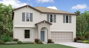The Providence Model Tour Epperson Manor Lennar Homes Wesley Chapel Florida