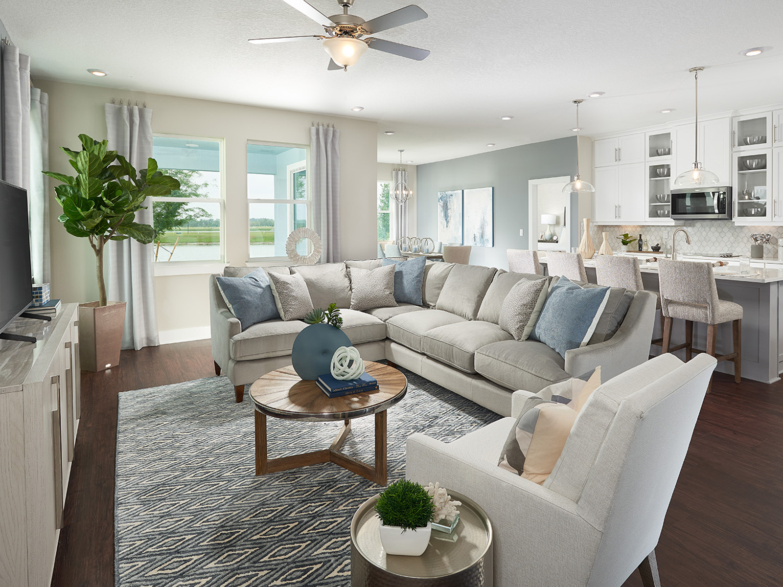 Radley Way at WaterGrass New Home Community Wesley Chapel Florida