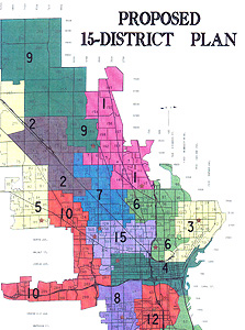 New Aldermanic District Map