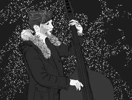 Art by Stephanie Brusrubardis