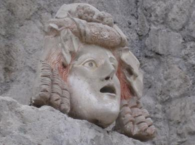 The head of Silenus. House of Neptune and Amphitrite