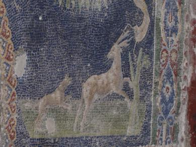 Hunting scene at the House of Neptune and Amphitrite