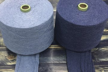 Recycled Indigo Yarn by Unitin