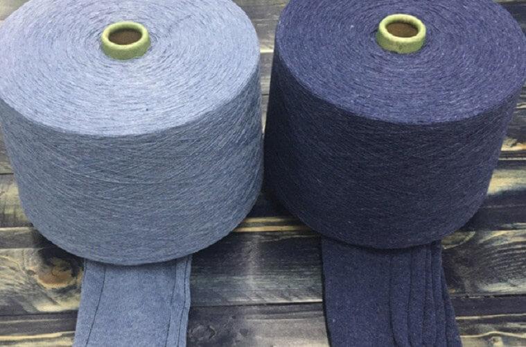 Recycled Indigo Yarn by Unitin