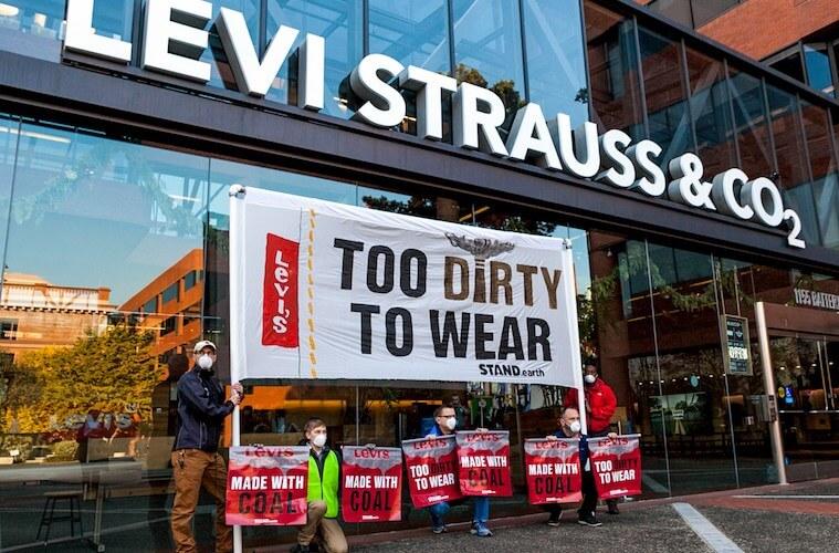 Levi's protest