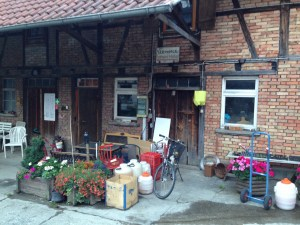 Our Eurobike home - the Farmhouse!