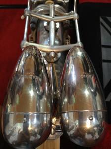 Original headlamps and bulbs! Fantastic!