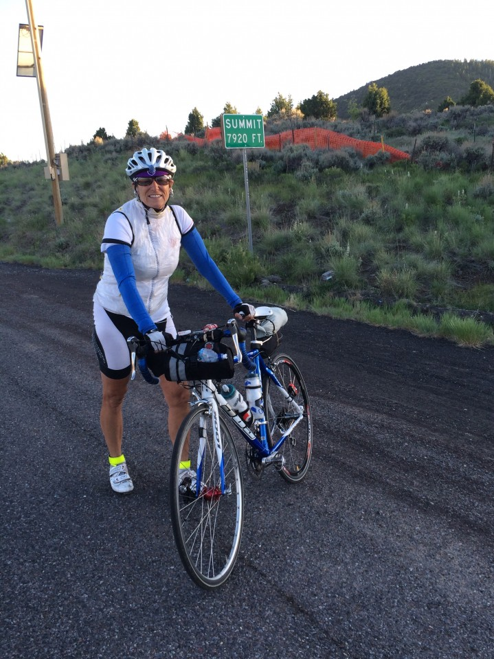 The summit of road 20 - heading to Panguitch.