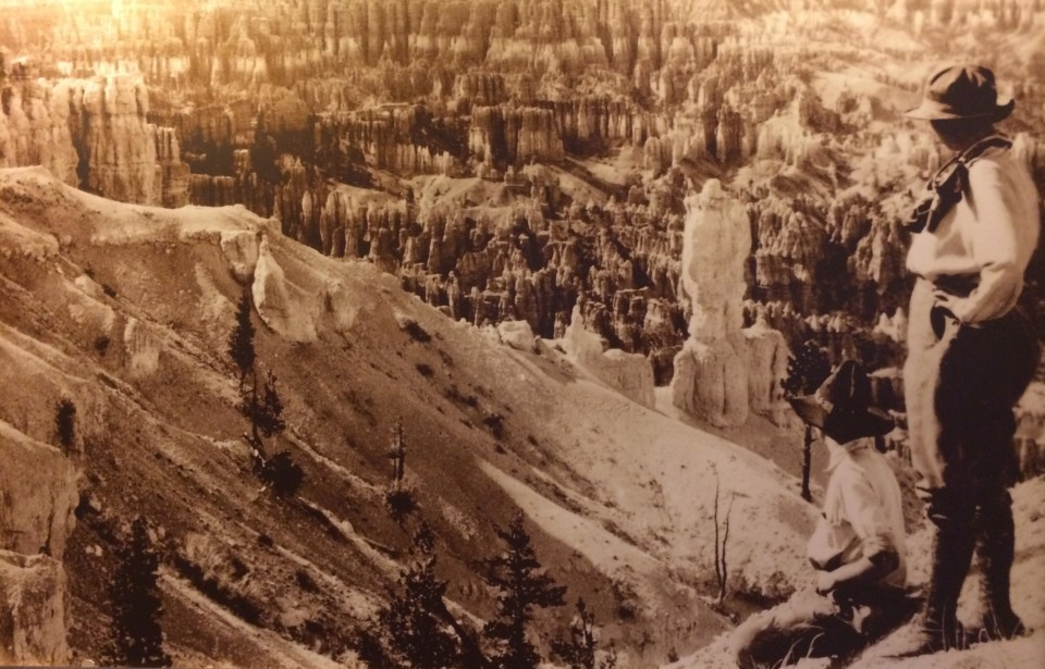 Early adventurers in Bryce.