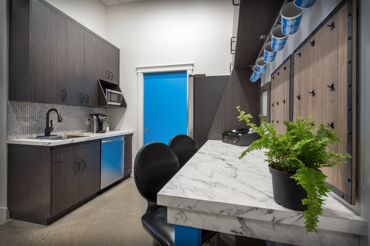 Cooperators Insurance Office break room Sherwood Park Edmonton
