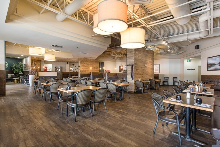 headquarters restaurant and bar reception dining area in sherwood park