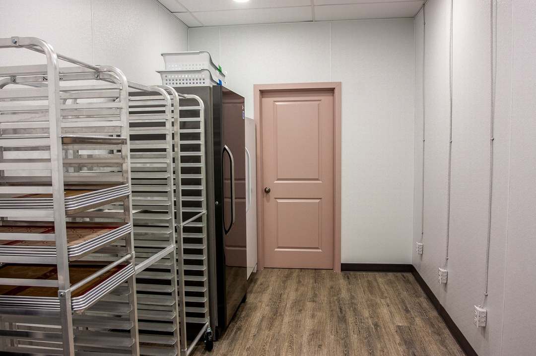cooling area bakery