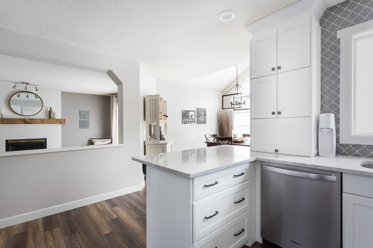 custom kitchen renovation in sherwood park edmonton