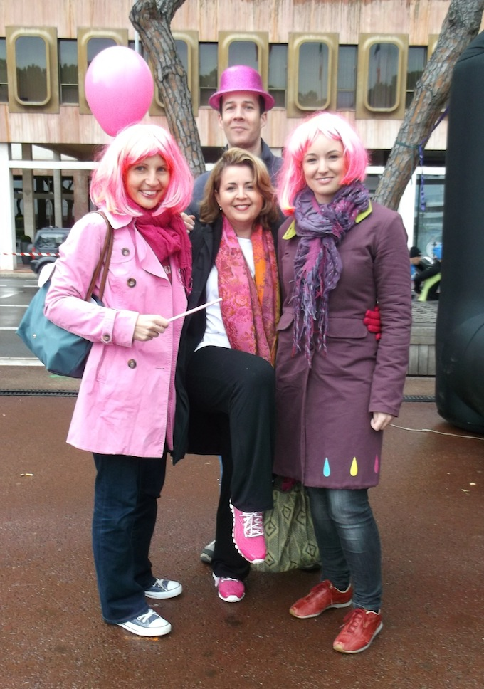 More participants from the Pink Ribbon Walk 2013 in Monaco
