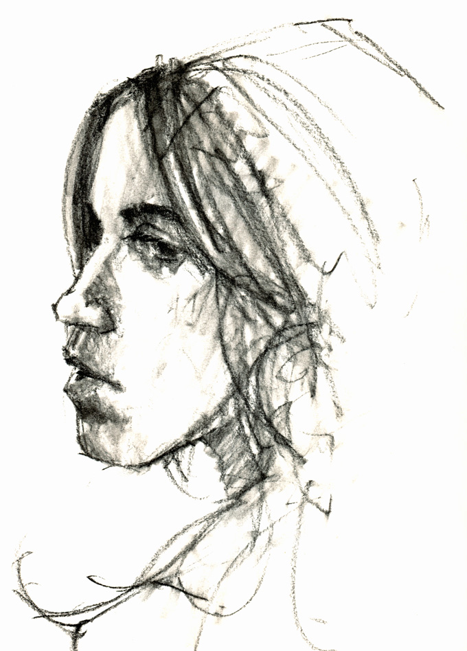 Life drawing by Paul Morris