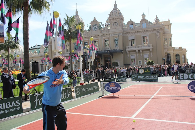 The Mini-Tennis demo in Monte-Carlo