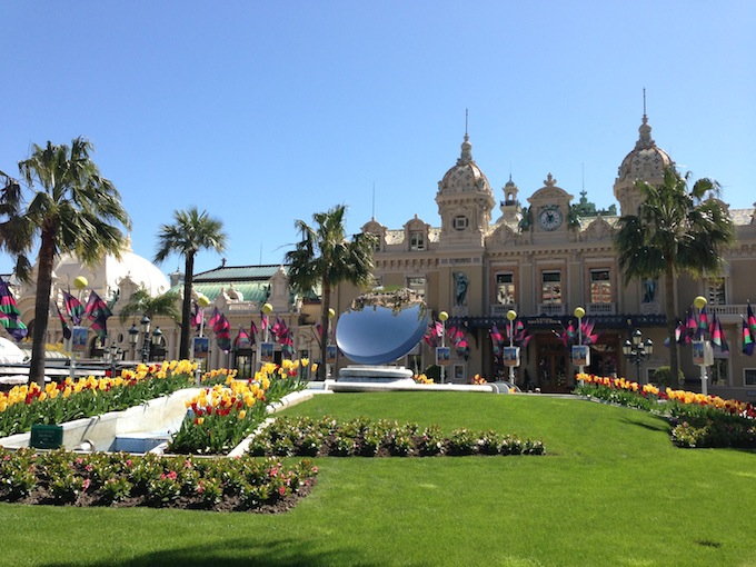 Place du Casino in Monaco