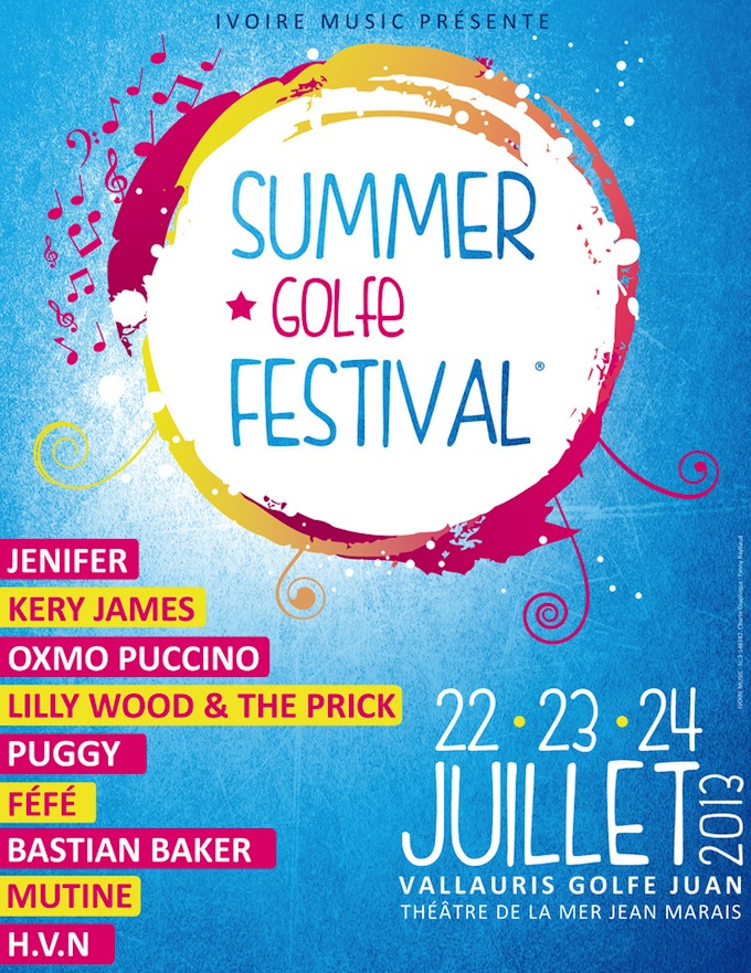 The Summer Golfe Festival 2013
