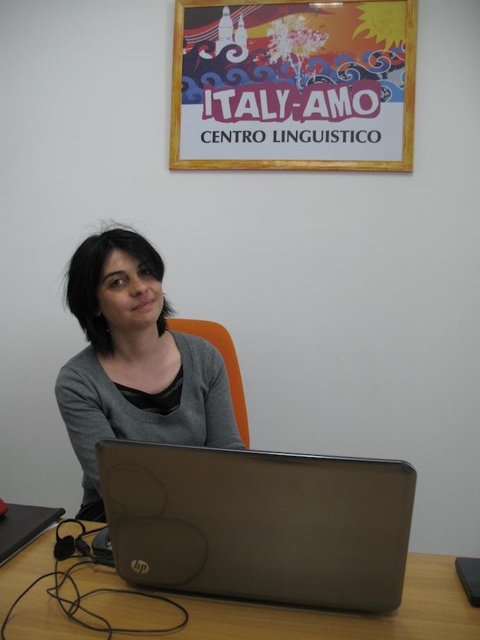 Silvia Feretti of Italy-Amo in Sanremo