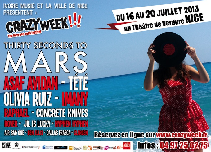 Crazy Week Festival in Nice July 2013