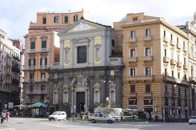 Piazza Trieste e Trente in Naples, Italy