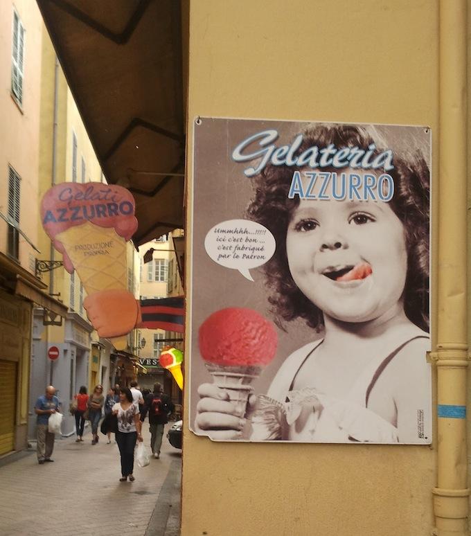 Gelateria Azzurro in Nice