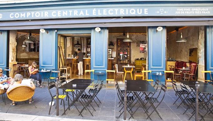 Le Comptoir Central Électrique exterior in Nice