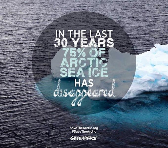 Greenpeace Arctic stats